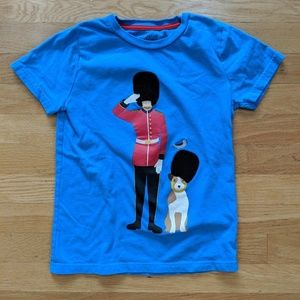 Mini Boden British Guard and Dog Tee